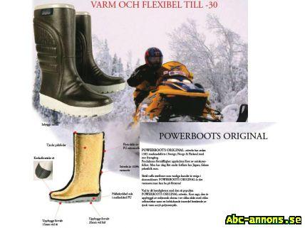 Power boots varmaste skorna - Värmland, Storfors - POWER BOOT ORGINAL ! Det VARMASTE man kan ha på fötterna Power boots orginal. Vad är hemligheten med den populära Stöveln. Kort sagt, den är uppbyggd av miljontals slutna i tre olika skikt med olika cellstorlekar samt heltäcka - Värmland, Storfors