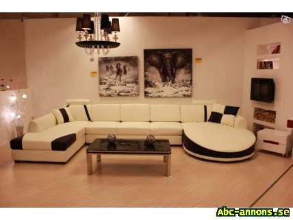 Soffa med 2 divaner