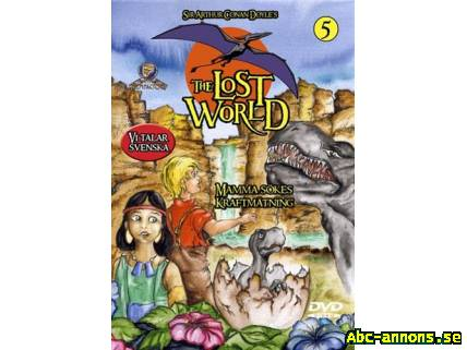 Tecknad barn DVD - The lost World 5
