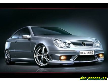 Body Kit Styling Mercedes C180 Coupe