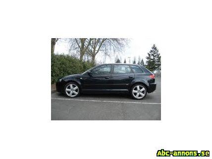 Audi A3 Sportback S line DSG - Bilar - ABC-annons.se ...