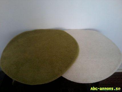 matta ikea grön