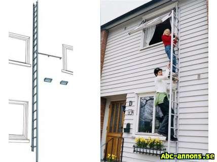 Attraktiva Brandstege diskret och snygg på husväggen - Övrigt hus & hem - Abc UC-16