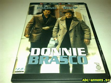 DVD Video film Donnie Brasco Thriller - Västmanland, Västerås - DVD Donnie Brasco Thriller-40:- Champions League 2005-40:- Bild 3-5 40:-/St - Västmanland, Västerås