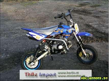 dirtbike tävlings motor