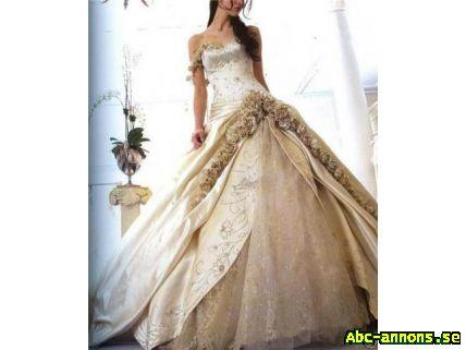 83c00bbfa713 Otrolig vacker brudklänning -skräddarsys - Kläder/Smycken/Ur - Abc ...