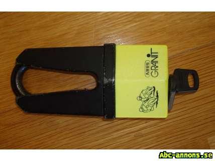 Abus Granit mc lås - MC-tillbehör   delar - Abc-annons.se Gratis ... d772a4991867e