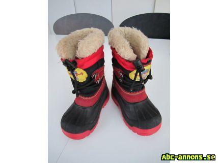 Vinterskor stövlar kängor i märket Pippi Barnkläder ABC