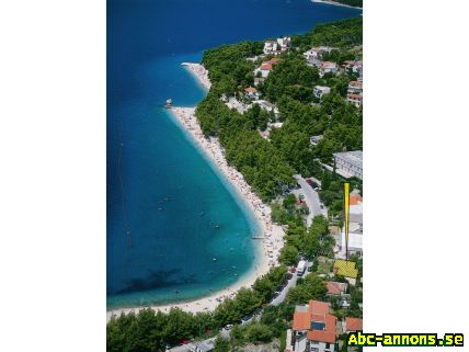 Family apartment MIRO - Övriga Utlandet, Kroatien - Baska Voda, CROATIA - Podluka 13 - Family Apartment MIRO. House is situated just 5 meters from the beach. It has a beautiful garden, terrace and indoor garage! On the terrace you can enjoy the magic view of the Adriatic Sea, a - Övriga Utlandet, Kroatien