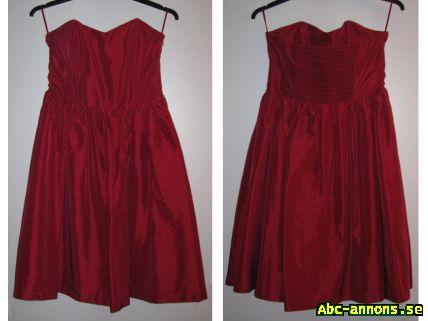 Fest -balklänning vinröd - Kläder Smycken Ur - Abc-annons.se Gratis ... 6868c47ab0ef6