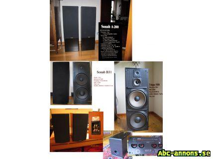 billiga högtalare