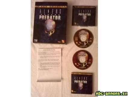 Aliens VS Predator: Gold Edition - Västra Götaland, Göteborg - PC-spel från 1999. - Västra Götaland, Göteborg