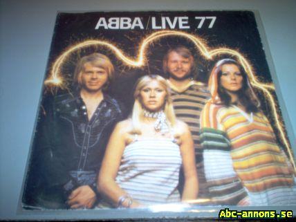 Abba-live 77 skiva - Västmanland, Västerås - ABBA LIVE 1977 - Västmanland, Västerås
