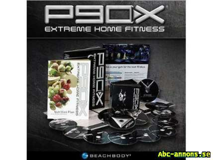 P90X - 13 DVD-Box-Set Fri Frakt