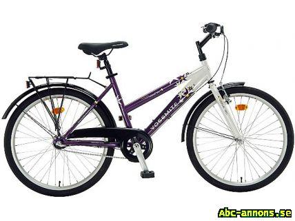 Fantastisk Flickcykel junior 24 tum (tre-växlad) - Cyklar - Abc-annons.se VY-31