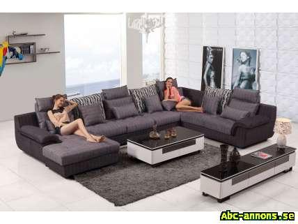 hannover u soffa xxl i tyg m bler heminredning abc gratis annonser id365086. Black Bedroom Furniture Sets. Home Design Ideas