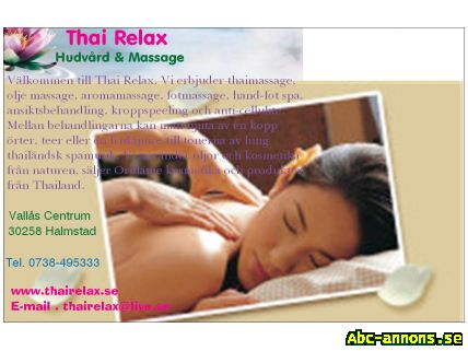 massage i halmstad kwan thai massage