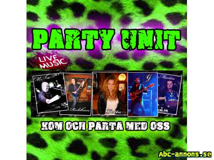 Kvalitets LIVE partymusik by PARTY UNIT