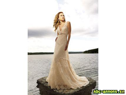 cc5416f5855b NY! Bröllopsklänning Brudklänning Spets - Kläder/Smycken/Ur - Abc ...