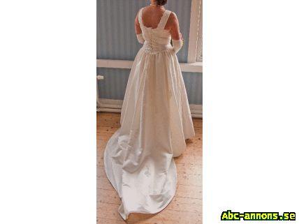 83556c74a6f6 Brudklänning strl 36-44 - Kläder/Smycken/Ur - Abc-annons.se Gratis ...