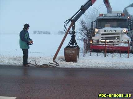 Lastbilssläp skrot