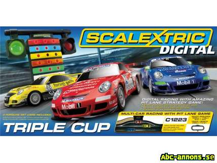 Scalextric Digital Triple Cup 1:32