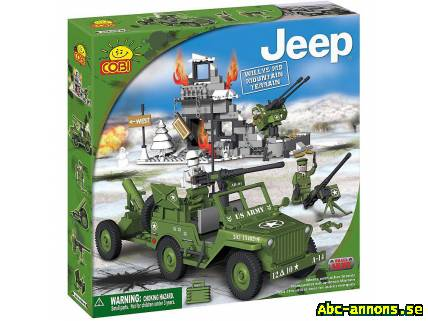 Cobi Small Army - Jeep Willys MB Mountai